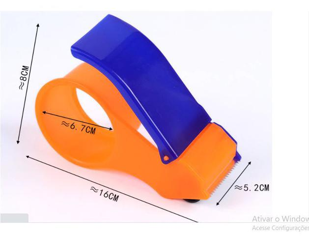 Imagem de Aplicador de Fita Adesiva Durex Dispense Cortador Até 300 Metros
