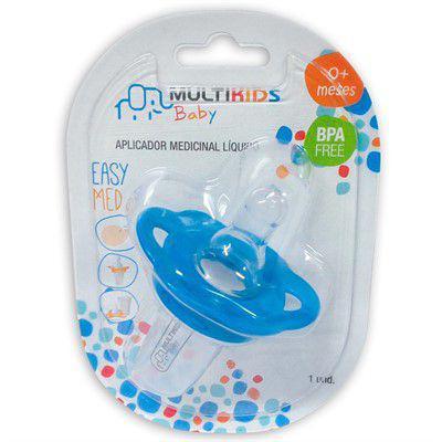 Imagem de Aplicador Medicinal Líquido Azul 0m+ Multikids Baby