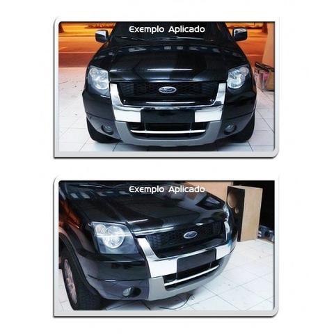 Imagem de Aplique Adesivo Cromado Grade Frontal Ecosport 2003 04 05 06