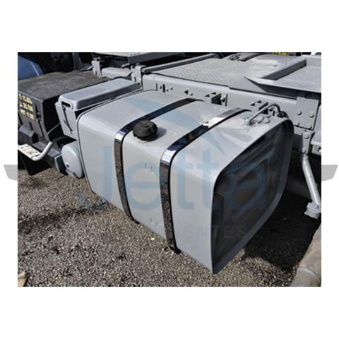 Imagem de Aplique Cinta Tanque 40x840 - Scania 112/113 em Inox