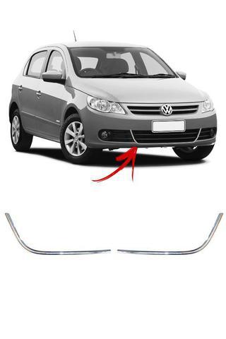 Imagem de Aplique Cromado Grade Inferior Volkswagen Gol G5
