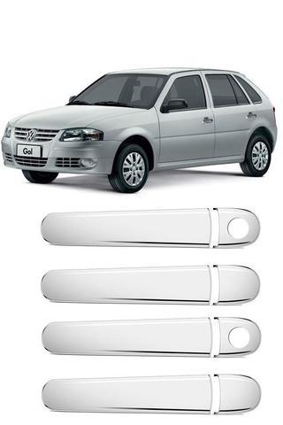 Imagem de Aplique Cromado Maçaneta Volkswagen Gol G3/G4 4p