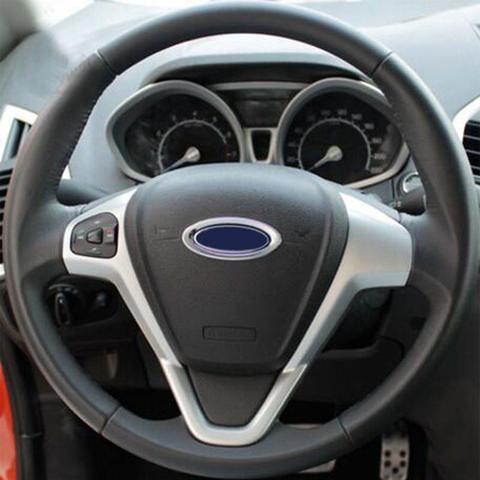 Imagem de Aplique Cromado Volante Ford Fiesta Focus Ecosport