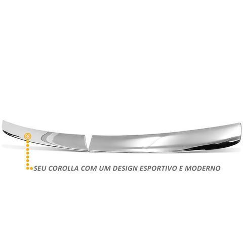 Imagem de Aplique Grade Frontal Gol G5 2008 a 2012 Cromado