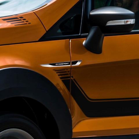 Imagem de Aplique Lateral Ecosport 2013/2020 Emblema Cromado Resinado