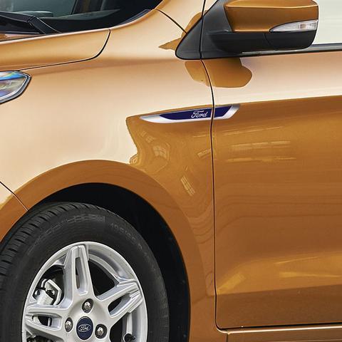 Imagem de Aplique Lateral Ford Ka Fiesta Edge Focus Emblema Cromado