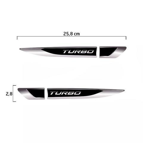 Imagem de Aplique Lateral Turbo Onix Hb20 Up Polo T-Cross Resinado