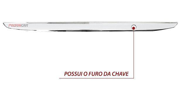 Imagem de Aplique Porta Malas Corolla 2012 2013 2014 Cromado Moldura