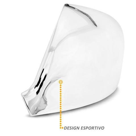 Imagem de Aplique Retrovisor Amarok 2010 a 2020 Cromado Lado Esquerdo