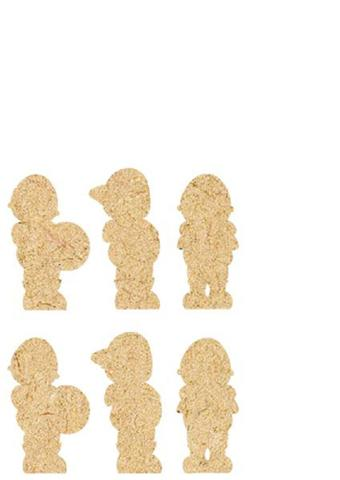 Imagem de Apliques decorativos MDF Decoupage DMA-031 - Litoarte