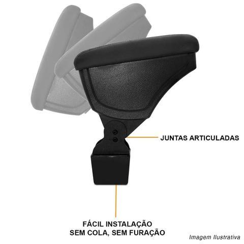 Imagem de Apoio de Braço Honda FIT/WRV 15/18 Ecologico Preto com Costura Preta