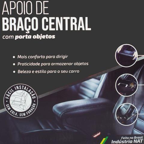 Imagem de Apoio Descanca Braco Central Preto 1.4 Turbo Nat Tracker 2017 Em Diante Kit1550