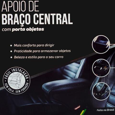 Imagem de Apoio Encosto De Braco Descanso Preto Nat Volkswagen Fox 2019 Em Diante Kit1569