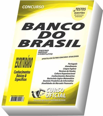 Imagem de Apostila Bb Banco Do Brasil 2019  Escriturário