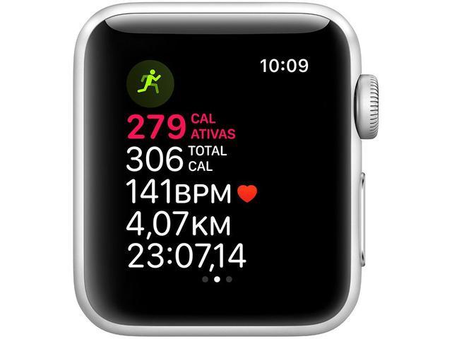 Imagem de Apple Watch Series 3 (GPS) 38mm Caixa Prateada