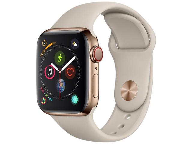 Imagem de Apple Watch Series 4 40mm GPS + Cellular Wi-Fi