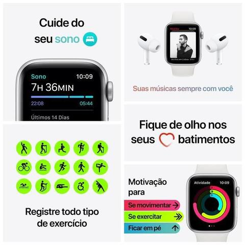 Imagem de Apple Watch Series 6 GPS, 40 mm, Alumínio (PRODUCT)RED, Pulseira Esportiva (PRODUCT)RED - M00A3BE/A