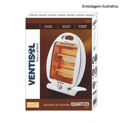 Imagem de Aquecedor Elétrico Ventisol - Premium Quartzo