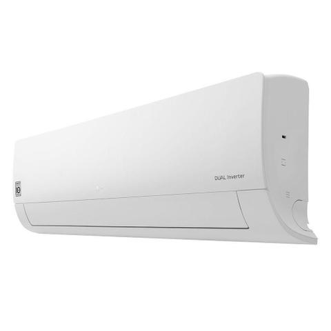 Imagem de Ar condicionado Inverter LG  12.000 Btu/h Split Hi-Wall Dual Compact - Frio - S4-Q12JA3AD - 220V