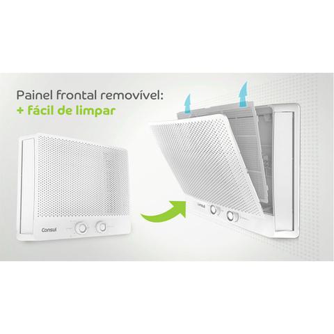 Imagem de Ar condicionado janela 10000 BTUs Consul frio com design moderno