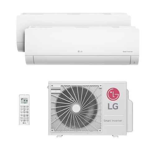 Imagem de Ar Condicionado Multi Bi Split Hw Inverter Lg 1x9000   1x12000 Btus Quente/frio 220V Monofasico A2UW18GFA2.AWGZBRZ
