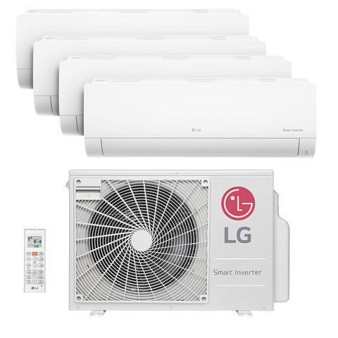 Imagem de Ar Condicionado Multi Quadri Split Inverter Hw Lg 3X9000+1X12000 Btus Quente/Frio 220V 1F A5UW30GFA2