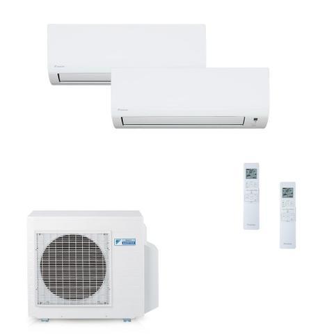 Imagem de Ar Condicionado Multi Split Daikin Advance Inverter Evaps 9000 + 12000 BTUs + Cond 18000 BTUs Quente/Frio 220V