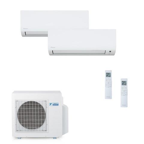 Imagem de Ar Condicionado Multi Split Daikin Advance Inverter Evaps 9000 + 18000 BTUs + Cond 18000 BTUs Quente/Frio 220V