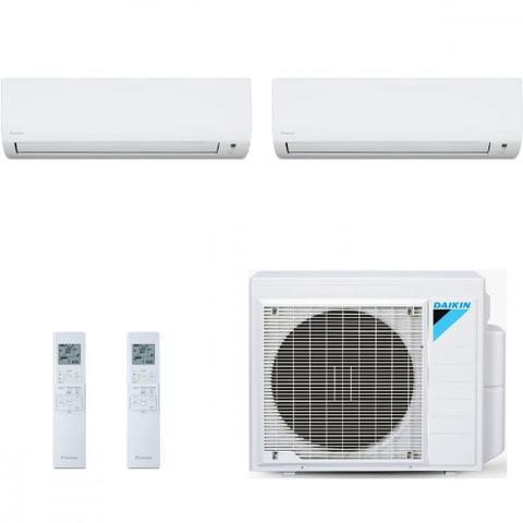 Imagem de Ar Condicionado Multi Split Inverter Daikin Advance 18000 BTUs 1x 9000  1x 12000 Quente Frio S2MXS1809P  220V