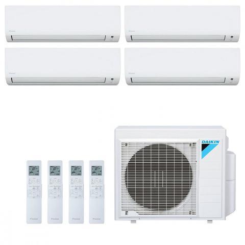Imagem de Ar Condicionado Multi Split Inverter Daikin Advance 34000 BTUs 3x 9000  1x 12000 BTUs Quente Frio S4MXS3409P  220V