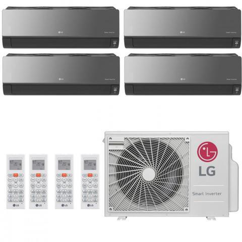 Imagem de Ar Condicionado Multi Split Inverter LG Artcool 36000 BTUs 2x 9000  1x 12000  1x 7000 Quente Frio A5UW36GFA2  220V