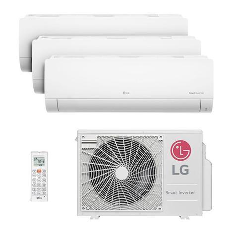 Imagem de Ar Condicionado Multi Tri Split Hw Inverter Lg 2x9000   1x18000 Btus Quente/frio 220V A3UW24GFA2.AWGZBRZ
