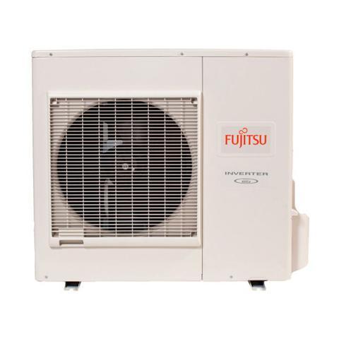 Imagem de Ar Condicionado Multi Tri Split Inverter Fujitsu 2X9000+1X18000 Btus Hw Quente/Frio 220v 1F AOBG24LAT3