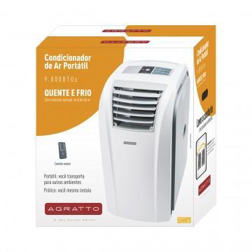 4f68d4410 Imagem de Ar Condicionado Portátil Agratto QuenteFrio 9.000Btus
