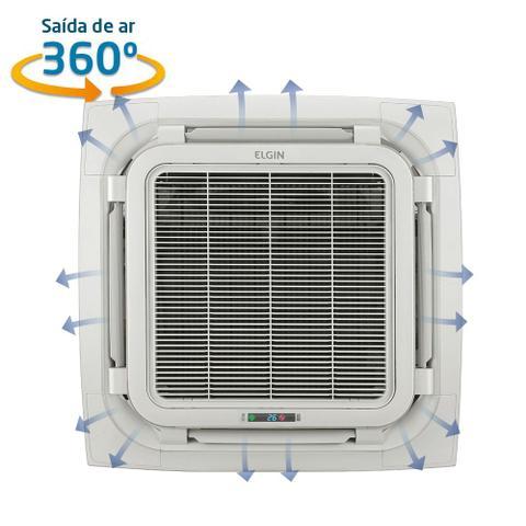 Imagem de Ar Condicionado Split Cassete Elgin Eco 360 18.000 BTUs Só Frio 220V Monofásico
