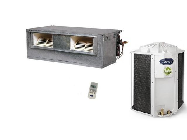 Imagem de Ar Condicionado Split Duto Carrier Versatile 48000 BTUs Quente e Frio 220V  42BQA048510HC