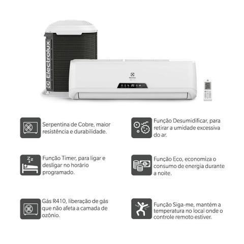 Imagem de Ar Condicionado Split Electrolux Ecoturbo 12000 Frio 220V Monofásico