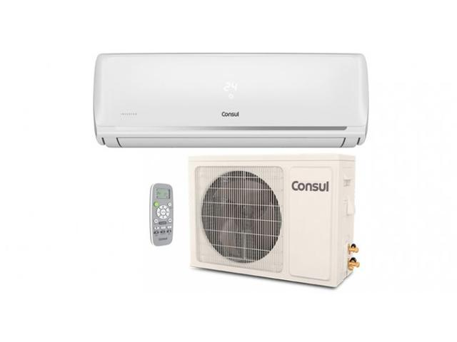 Imagem de Ar Condicionado Split Hi Wall Consul Inverter 12000 BTUs Quente Frio 220V  CBJ12DB