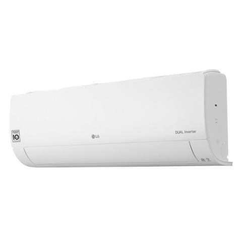 Imagem de Ar Condicionado Split Hi Wall LG DUAL Inverter Voice 12000 BTUs Quente e Frio  S4W12JA31A  220V