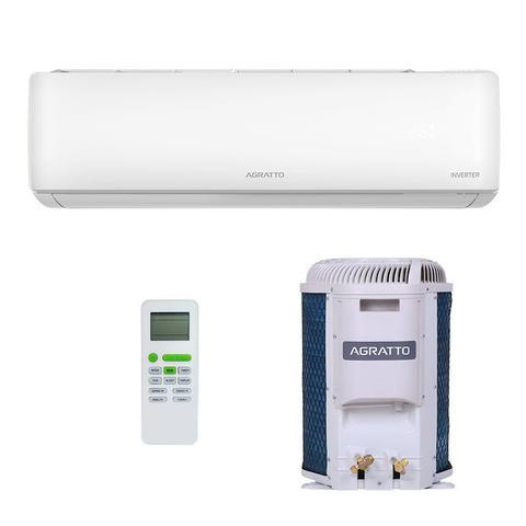 Imagem de Ar Condicionado Split Hw Inverter Eco Top Agratto 12000 Btus Quente/frio 220V Monofasico EICST12QFR402