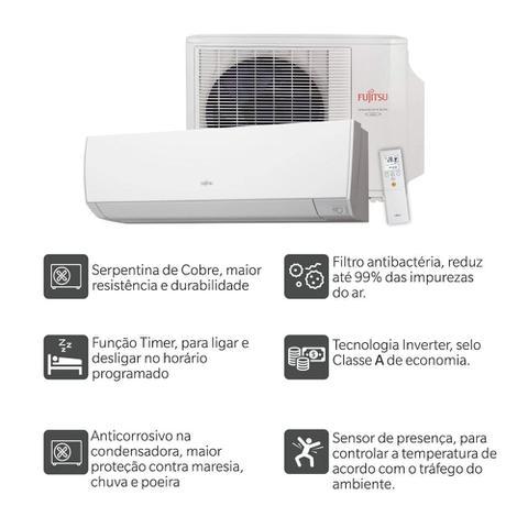 Imagem de Ar Condicionado Split Inverter C/ Sensor 12000 Btus Quente Frio 220v Fujitsu