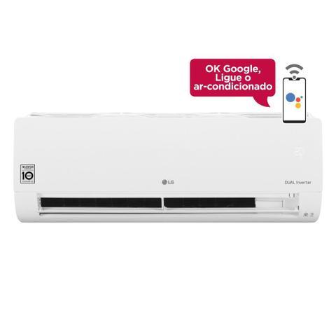 Imagem de Ar Condicionado Split Inverter LG Hi Wall DUAL Voice 12000 BTUs Frio S4NQ12JA31C  220V