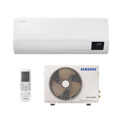 Imagem de Ar Condicionado Split Inverter Windfree Samsung 9000 Btus Quente/frio 220V Monofasico AR09TSHCBWKNAZ