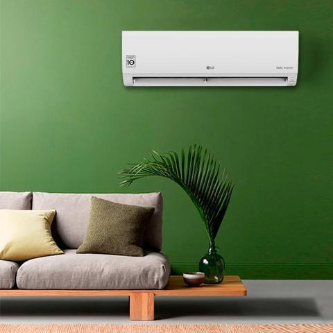 Imagem de Ar Condicionado Split LG Dual Inverter 9000 Btus Quente e Frio 220v