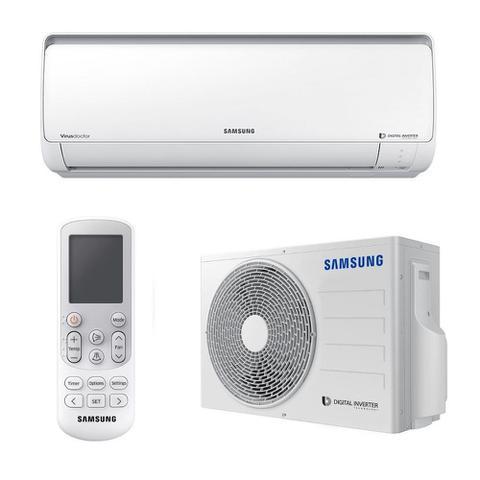 Imagem de Ar Condicionado Split Samsung Digital Inverter 8 Polos 9000 BTUs Frio 220V AR09MVSPBGMXAZ