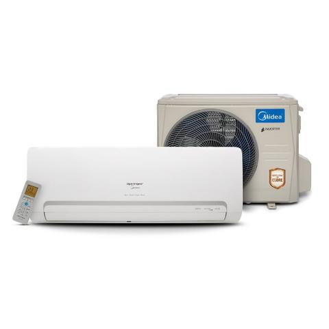 Imagem de Ar Condicionado Split Springer Midea Inverter 9000 BTUs Quente/Frio 220V