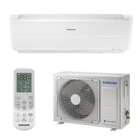 Imagem de Ar Condicionado Split Wind Free 8-Polos 9000 BTUs Samsung Digital Inverter Q/F 220V AR09NSPXBWKXAZ