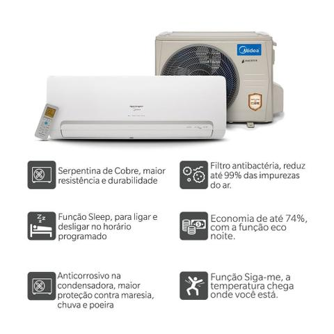 Imagem de Ar Condicionado Springer Midea Split Inverter 9000 Frio 220V Mono