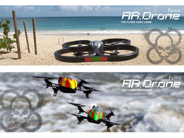 Imagem de AR Drone Quadricóptero Azul PF720002AC Parrot