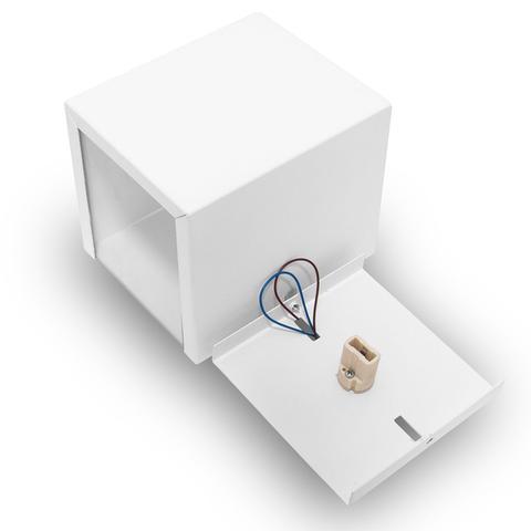 Imagem de Arandela 2 fachos Externa E Interna Para Lâmpada G9 Alumínio